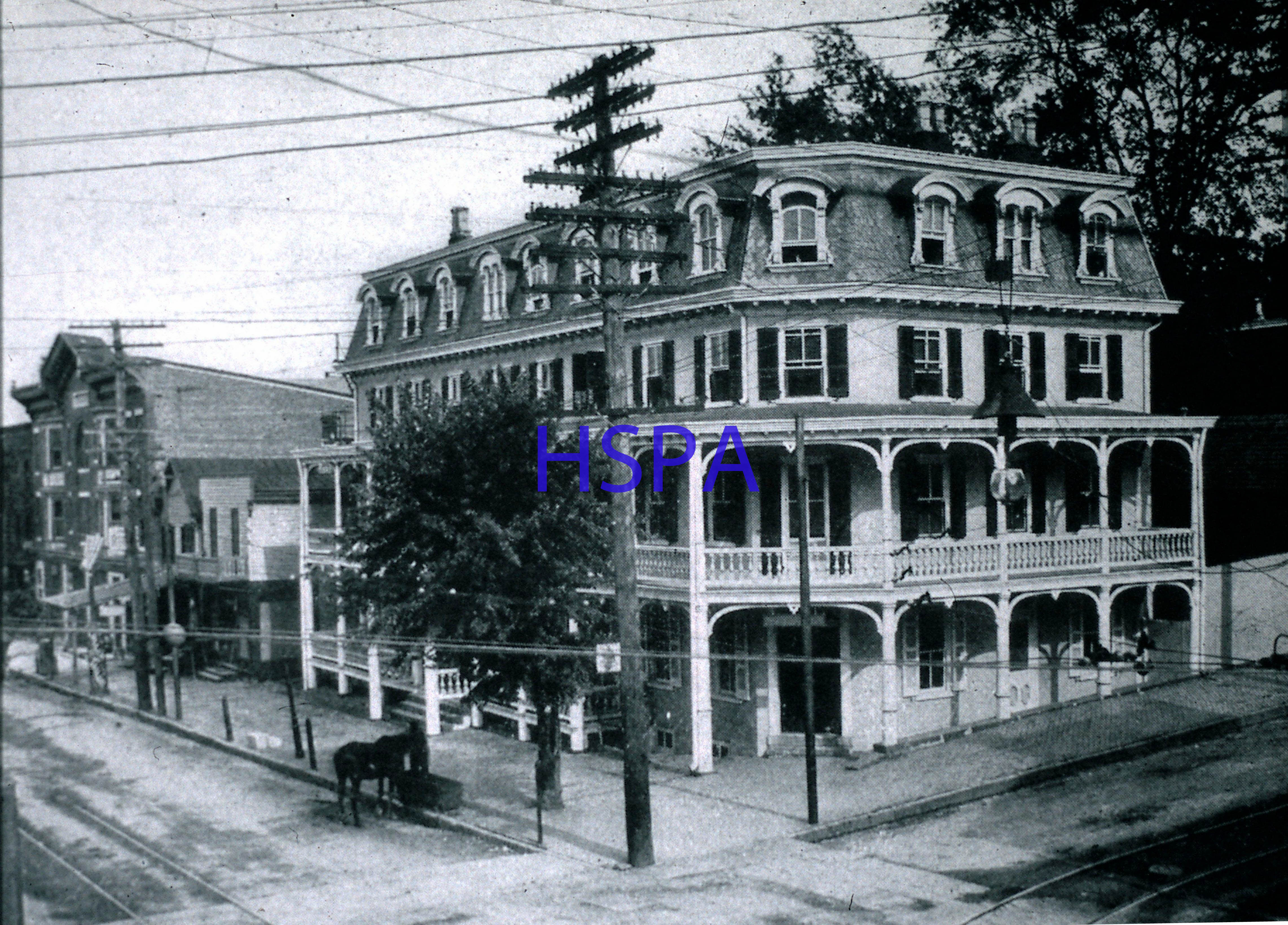Phoenix Hotel Main Bridge Streets C 1910 It Was Built In 1836 By The Iron Co