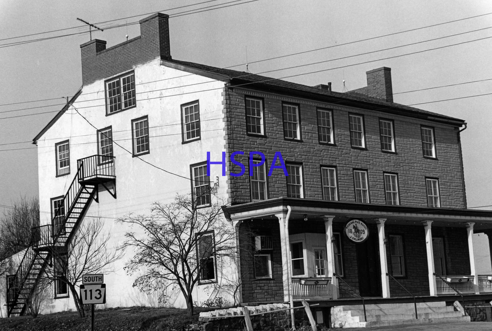 The General Pike Hotel Shown Above Was Demolition In 1994 Inn Built 1808 By John Morgan Honor Of Zubulon Montgomery