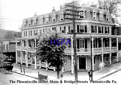 Phoenix Hotel About 1900 It Was Torn Down In 1949
