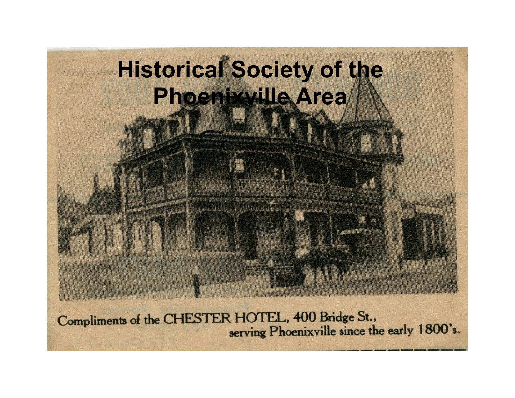 Chester Hotel 400 Bridge Street Late 1800 S Photo 1989 131 16w 9
