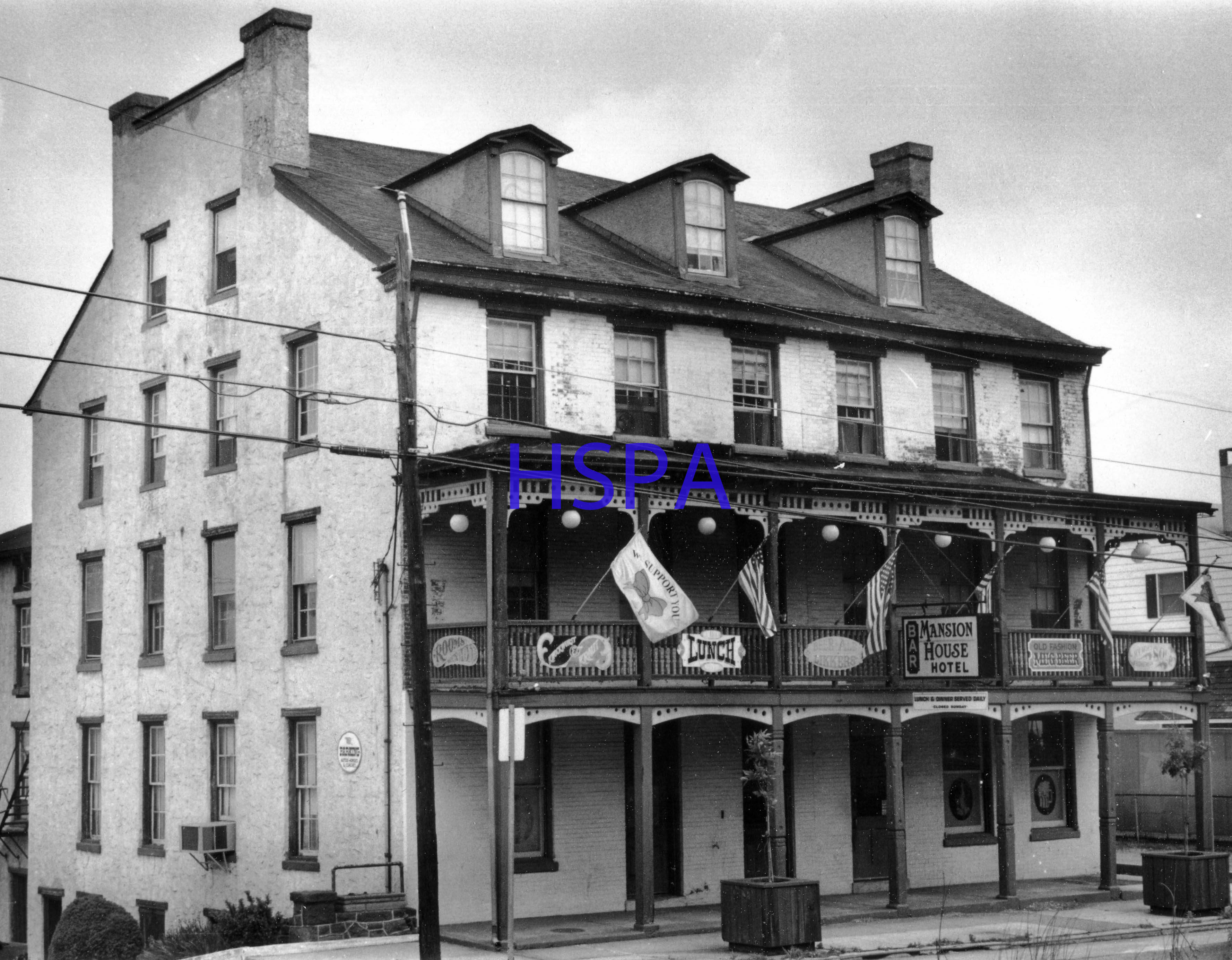 Mansion House Hotel 1970s